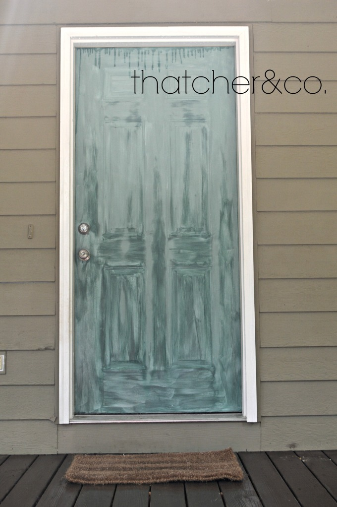 Thatcher&Co: Home Tour: Porch